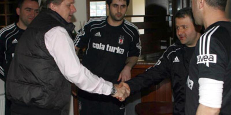Schuster Beşiktaş'a veda etti