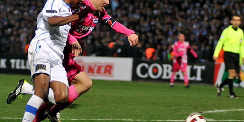 Trabzon Kasımpaşa'yı tek golle geçti