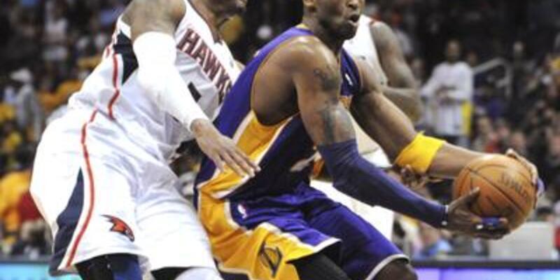 Kusursuz Lakers Atlanta'yı tanımadı