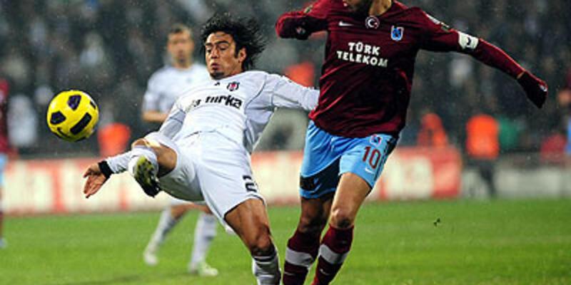 Trabzonspor Beşiktaş'ı İnönü'de yıktı