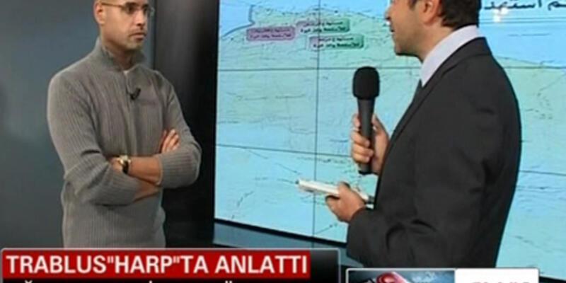 Ve Seyfülislam Kaddafi CNN Türk'te!