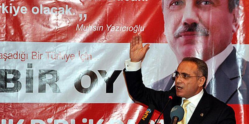 """BBP lideri: """"Bakan Yıldırım istifa etmeli"""""""