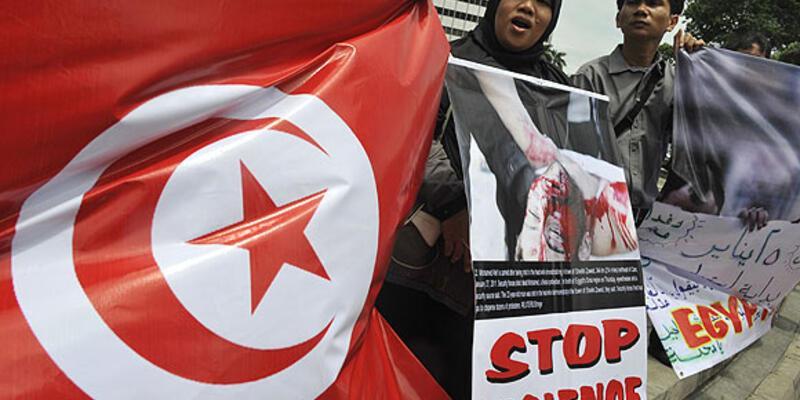 Tunus'ta yeni bir 'kendini yakma' girişimi!