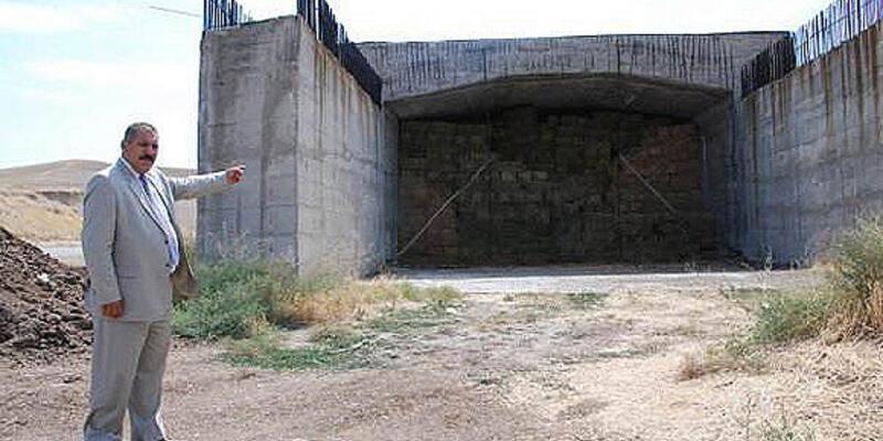 1 milyon dolar harcanan tünel tamamlanmadı!