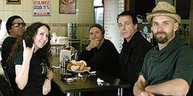 Rammstein kebapçıda!