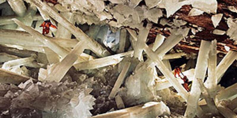 Dev kristaller mağarası sular altında kalacak