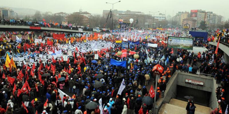 İşçiler genel grev istedi, Türk-İş sessiz kaldı