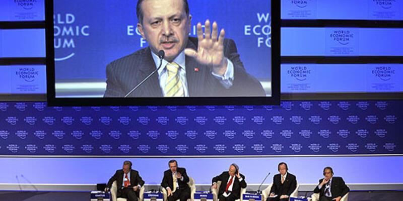 Davos'ta kriz
