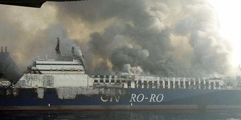 Adriyatik'te Türk şilebi yanıyor