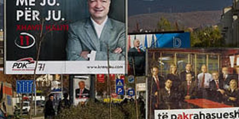 Kosova halkı 17 Kasım'da sandık başında