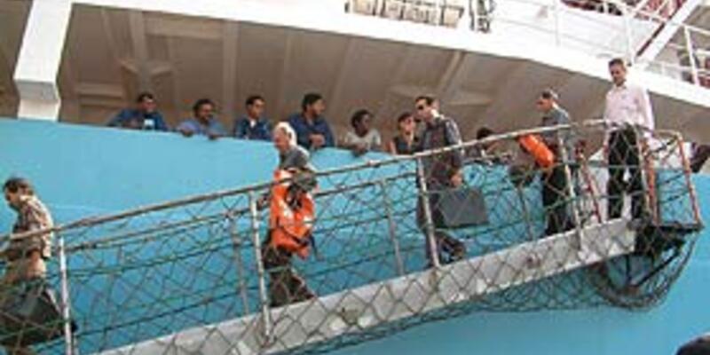 KKTC bandıralı gemi battı, 2 kişi kayıp