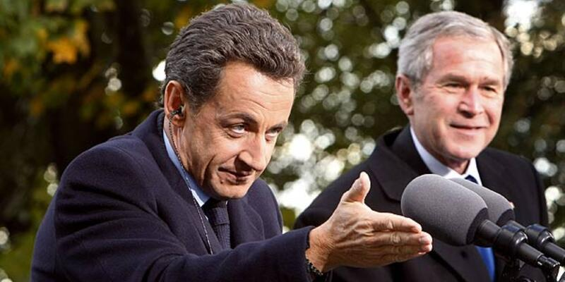 Sarkozy'den Beyaz Saray'da gaf