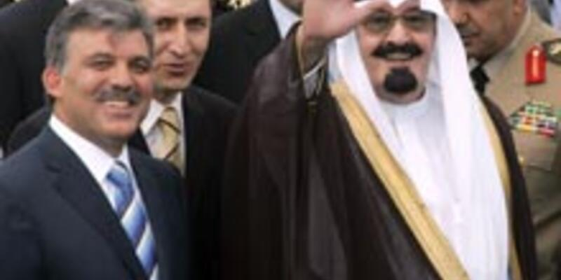 Kral Abdullah Türkiye'ye geldi