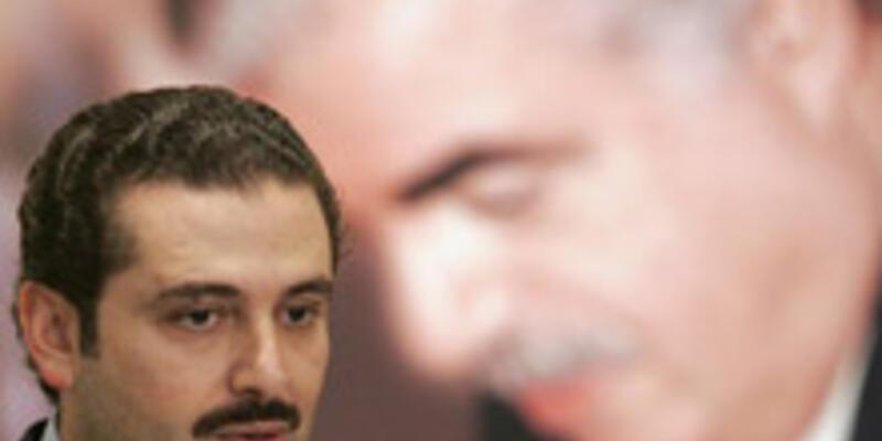 Lübnan'da zafer oğul Hariri'nin