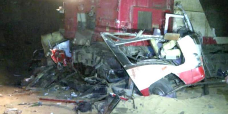Mısır'da katliam gibi tren kazası!