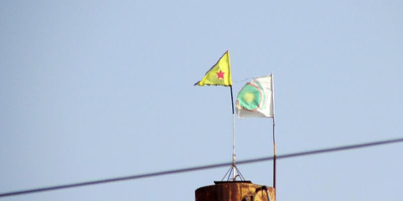 Rasulayn'a yeniden PYD bayrağı
