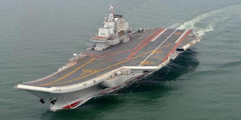 Çin'in ilk uçak gemisi deneme seferine çıktı
