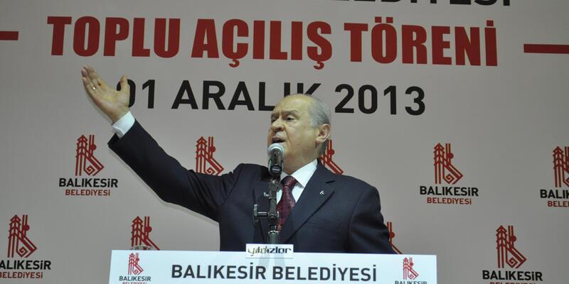 """""""Türk yoktur"""" Bahçeli'yi öfkelendirdi"""