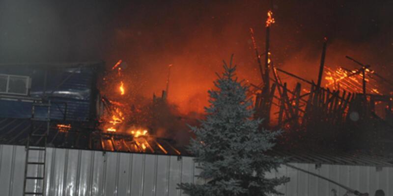 150 bin TL için fabrikayı yaktı
