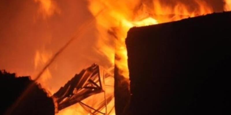 Çin'de halde yangın: 15 ölü, 5 yaralı