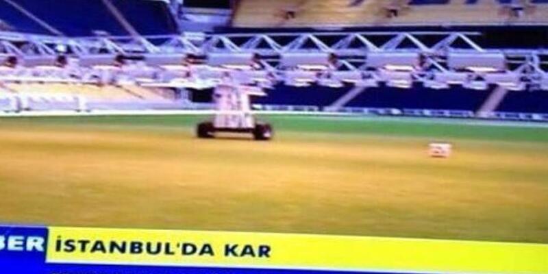 Bu da Fenerbahçe'nin Galatasaray'a yaptığı gönderme