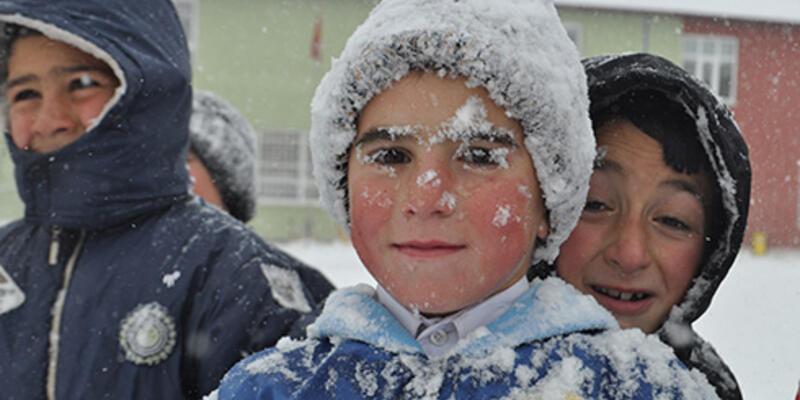 Bazı illerde eğitime kar molası