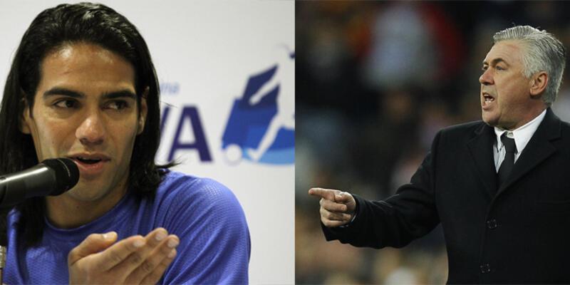 Ancelotti'den Falcao'ya veto