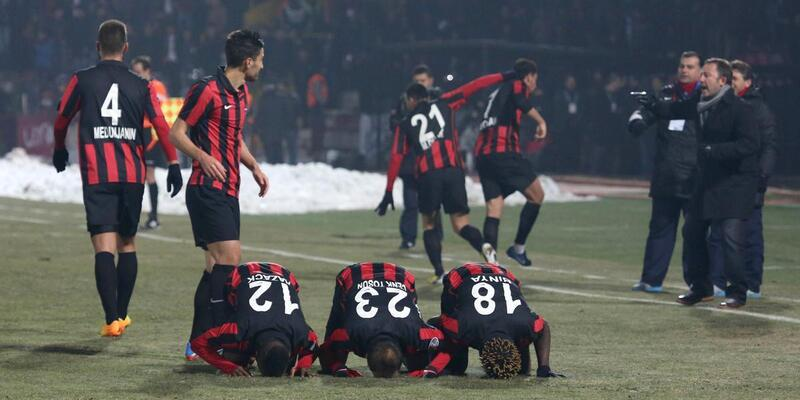 Gaziantepspor - Kayseri Erciyesspor: 2-1