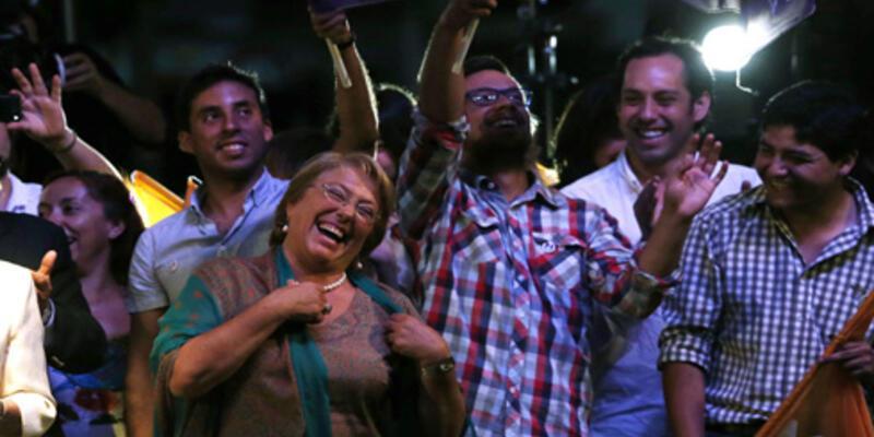 Şili'de Bachelet yeniden cumhurbaşkanı