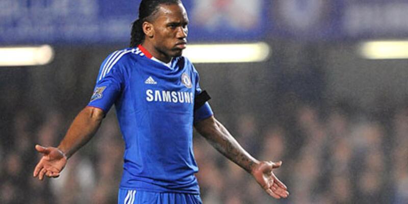 Chelsea'li futbolcuların Drogba heyecanı