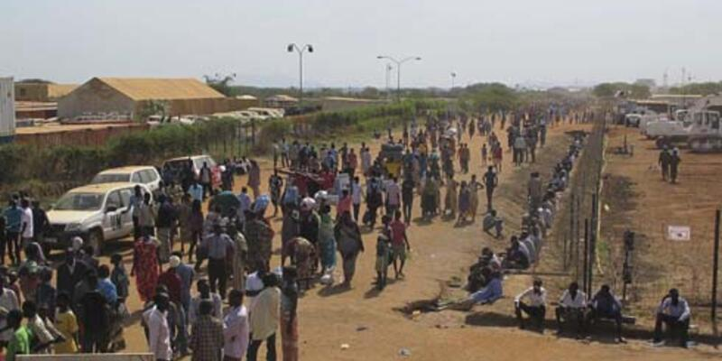 Güney Sudan'da 3 günde 500 kişi öldü