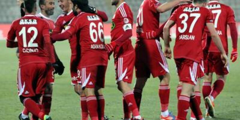 Sivasspor - Nazilli Belediyespor: 2-1