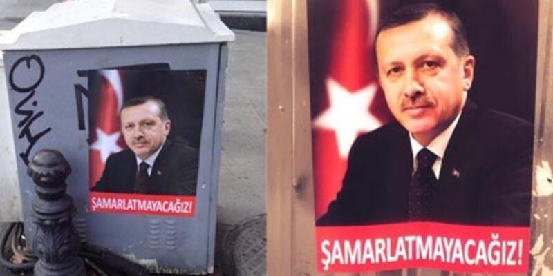 İstanbul'da ilginç afişler
