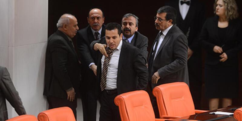 BDP'li Vekil ile eski Bakan Akdağ arasında tartışma