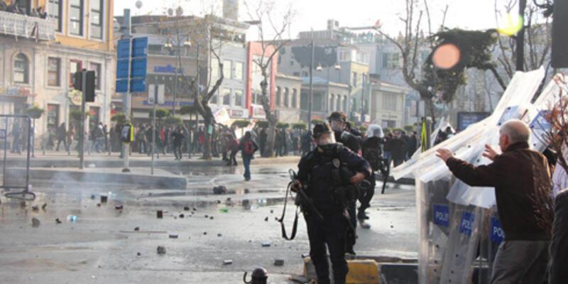 Kadıköy'de Büyük İstanbul Mitinginde olay