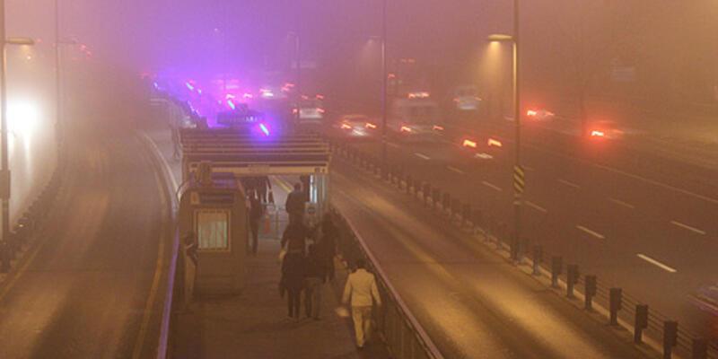 İstanbul'da sis etkisini yitirdi