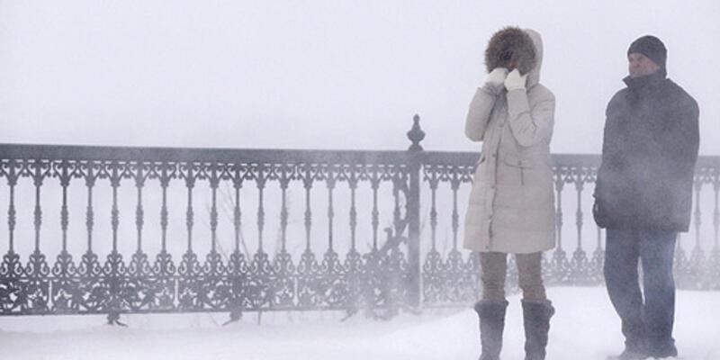 Kanada'da yaşam dondu!