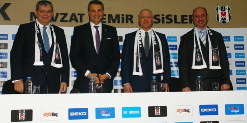 Beşiktaş ile Koç şirketleri anlaşma imzaladı