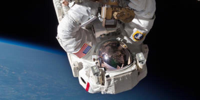 Üçüncü uzay yürüyüşü de tamamlandı