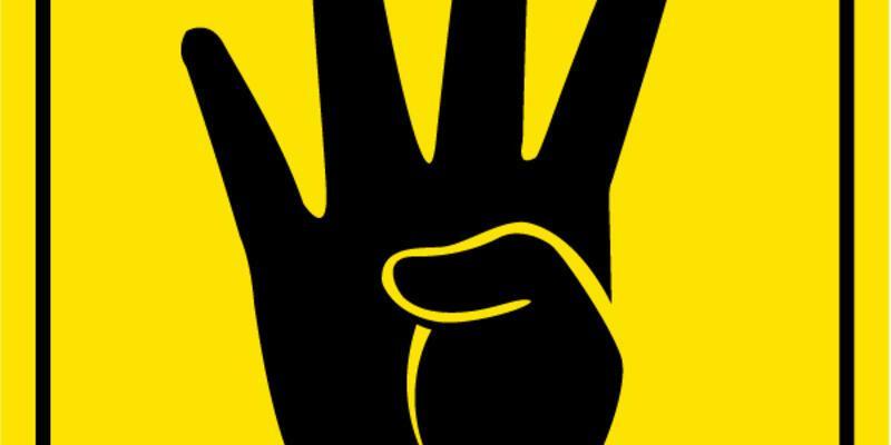 Facebook'ta Rabia logosu kullanana 5 yıl hapis cezası!