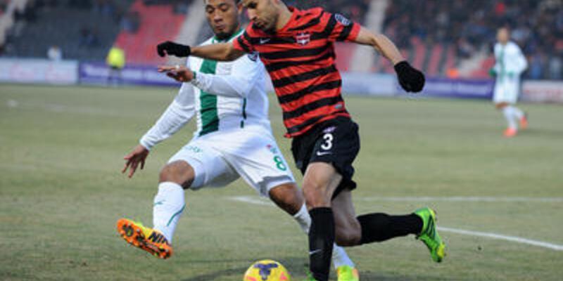 Gaziantepspor - Bursaspor: 0-0