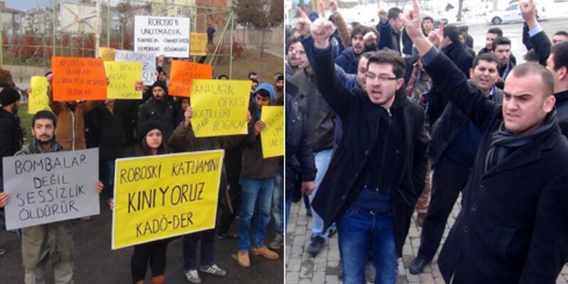 Karabük'te Uludere anmasına saldırı girişimi