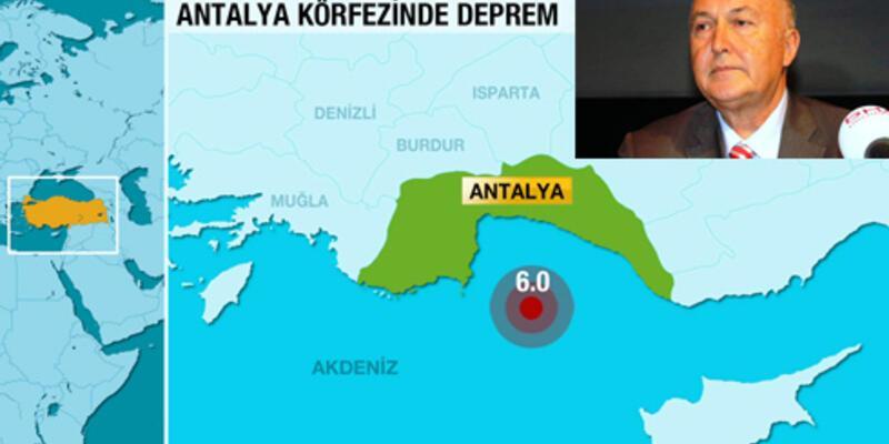 Ahmet Ercan'dan Antalya depremi uyarısı