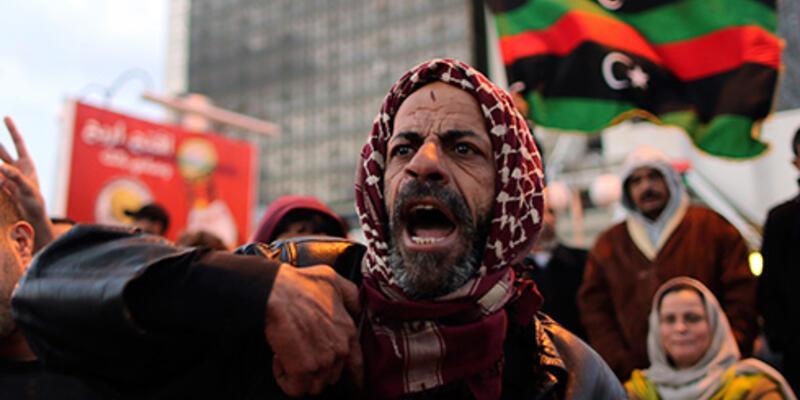 Libya'da protestocuların eylemi son buldu