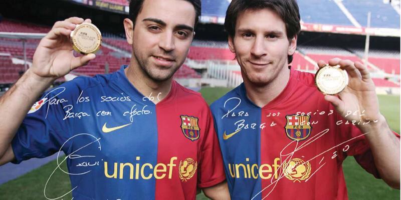 Xavi'den Messi'ye övgü