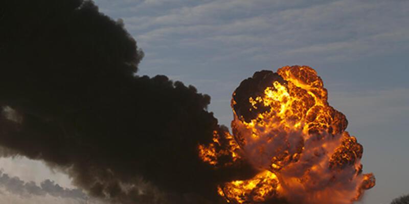 ABD'de tren bomba gibi patladı!