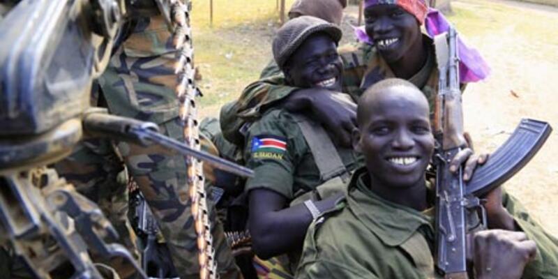 Güney Sudan'da silahlar susuyor