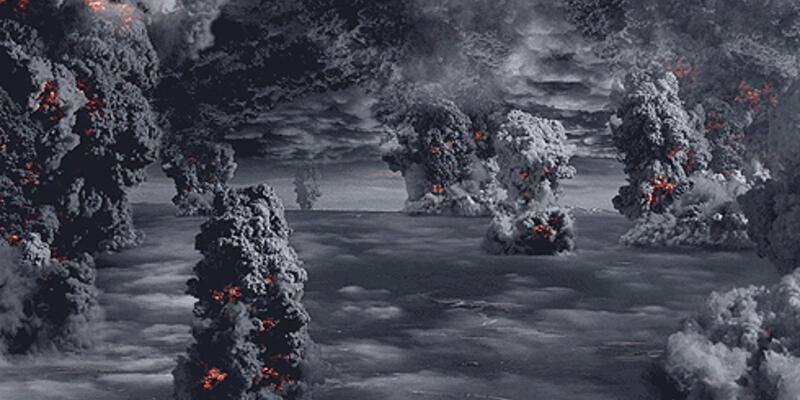 """Süper volkan patlaması """"medeniyeti yok edebilir"""""""