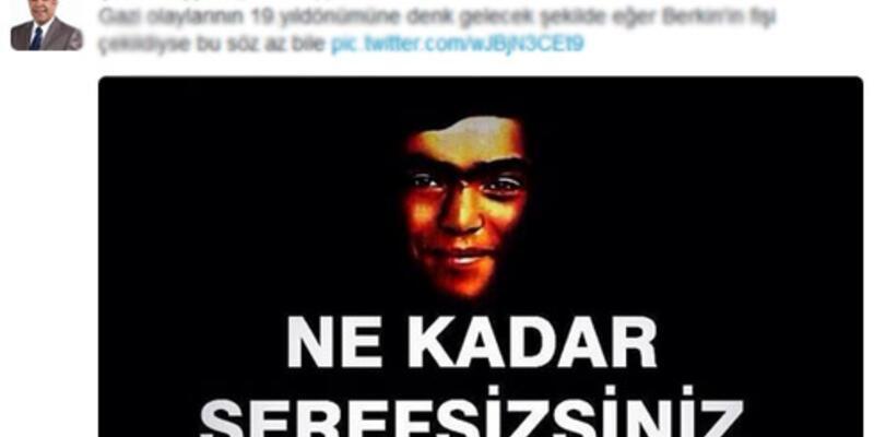 AK Partili vekil Şamil Tayyar'dan şok eden Berkin Elvan tweeti
