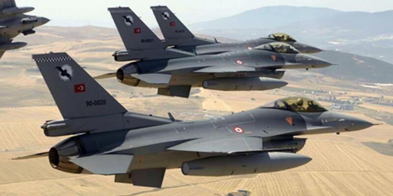 Suriye helikopteri sınıra yaklaştı, F-16'lar havalandı!